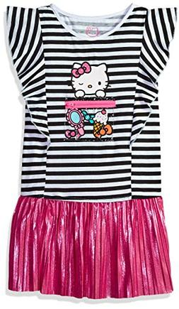 Hello Kitty Toddler Girls' Embellished Tutu Dress, Pink, 3T