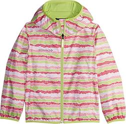Columbia Big Kids Pixel Grabber Ii Wind Jacket, Lollipop Str
