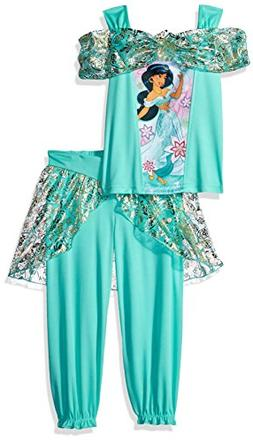 Disney Little Girls' Princess Jasmine Fantasy 2-Piece Set, S