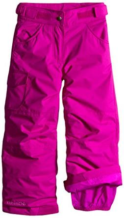 Columbia Little Girls' Starchaser Peak II Pant, Bright Plum,