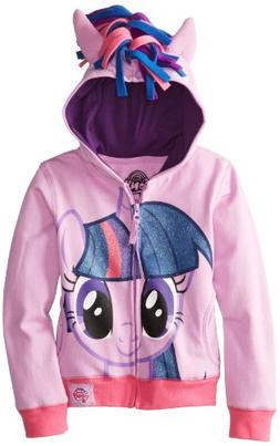 My Little Pony Big Girls' Twilight Sparkle Hoodie, Purple/Mu