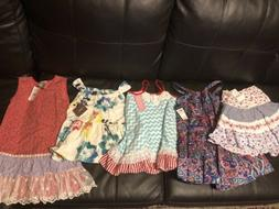 Brand New W Tags Girls 5-6 Dresses Skirts Tops Nordstrom Ral