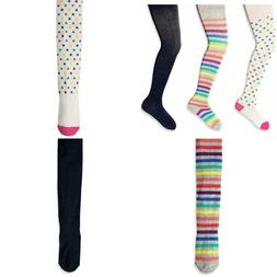 Brand - Spotted Zebra Girls' 3-Pack Cotton Tights