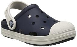 crocs Bump It Clog , Navy/Oyster, 3 M US Little Kid