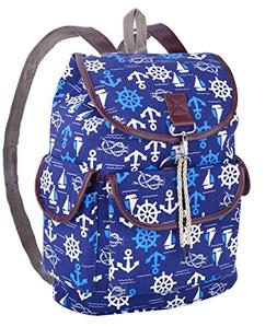Canvas Backpack, College Campus Durable Casual Sports Outdoo
