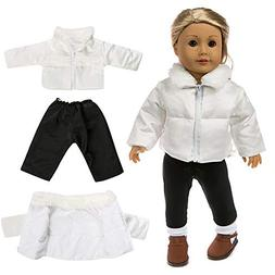 Gbell Clearance! 18 Inch Doll Outfits Winter Sweater Outfits