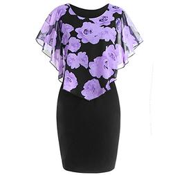 Dresses for Womens, FORUU St. Patrick's Day Clover Ladies Sa