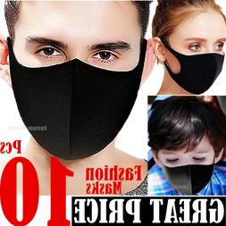 10ps Face Masks Women Men Kids Boy Girls Teen Unisex Clothin