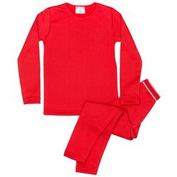 Rocky Girls Fleece Lined Thermal 2PC Underwear Set Top and B