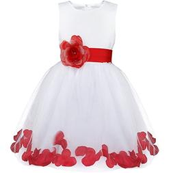 Ygosoon New Girl Flower Dress Infant Kids Toddler Girls Clot