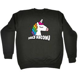 Funny Novelty Sweatshirt Jumper Top - Unicorn Girl