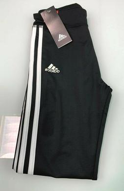Adidas Girl's 3 Stripe Leggings - Black