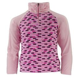 Columbia Girl's Glacial II Print 1/2 Zip Fleece Pullover Pri