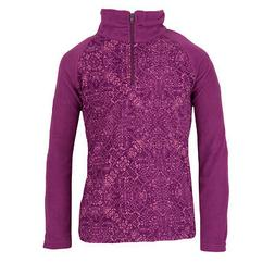 Columbia Girl's Glacial II Print 1/2 Zip Fleece Pullover Plu