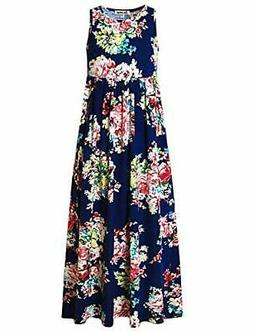 Jxstar Girl Unicorn/Mermaid Maxi Long Dress