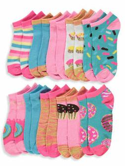 Limited Too Girls' 10-Pack Low Cut Socks