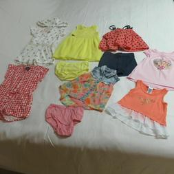 Girls 10 Pce Clothing Lot - Juicy Couture, Guess & Gap Group