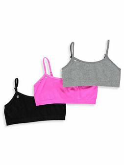 Limited Too Girls' 3-Pack Seamless Bras