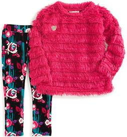 girls berry eyelash sweater 2pc legging set