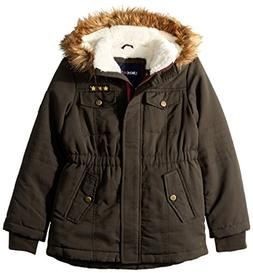Limited Too Girls' Big Sueded Microfiber Heavy Anorak W/Sher