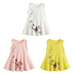 Girls Clothing Cute Girl Dress Kids Princess Sleeveless Dres