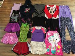 Girls Clothing Lot, 18 Items, Size 7/8, Tumbling Gear, Minni