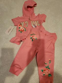 Girls Clothing outfits size 12 months Juicy Couture