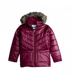 Girls Columbia Katelyn Crest Mid Hooded Winter Jacket Coat N