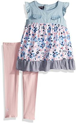 Limited Too Girls' Little Fashion Top and Legging Set, Flora