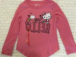 GIRLS Hello Kitty long sleeve shirt XS, S, L, XL