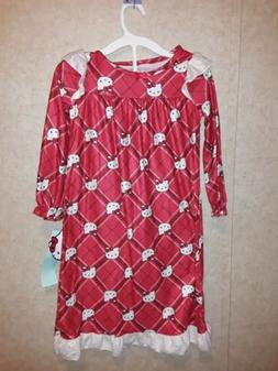 Hello Kitty Girls Nightgown Size 4/5 Small New