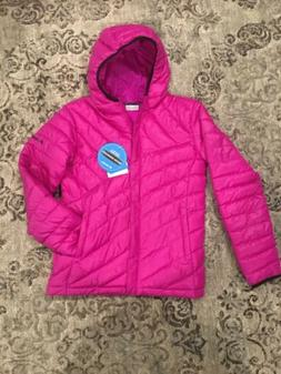 Columbia Girls Powder Life Puffer NWT Raspberry Pink Jacket