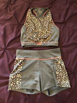 Justice Girls Size 12 Activewear Outfit