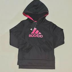 Girls Size 5 5t Adidas Glitter Logo Pullover Hoodie Athletic
