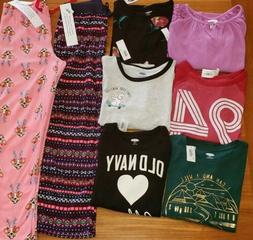 Old Navy Girls SIZE 8 Clothing Lot 8 PIECES Long Sleeve Shir