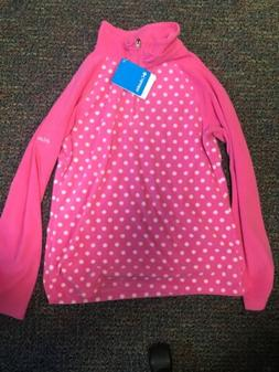 Columbia Girls Size L Fleece Pullover
