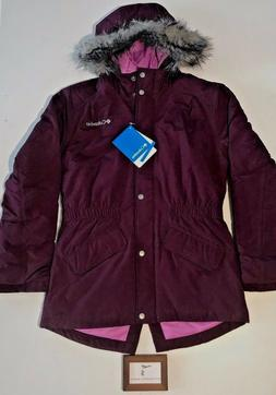 Columbia Girls Size Medium Mountain Full Zip Huckleberry Jac