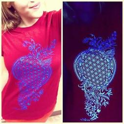 Girls Tee Grow Original Sacred Geometry Clothing by Enlighte