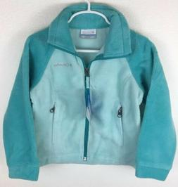 Columbia Girls Three Lakes Lightweight Fleece Jacket Size 4-