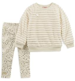 Juicy Couture Girls' Little 2 Pieces Tunic Legging Set -Faux
