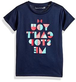 Under Armour Little Girls' You Can't Stop Me Short Sleeve T-