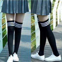 Girls Women's Clothing Non-Slip Anti-Hem Fashion Thigh High