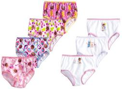 Disney Little Girls' 7 Pack Doc McStuffins Underwear, 2T/3T