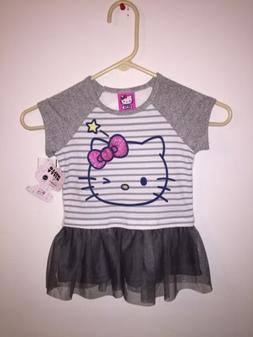HELLO KITTY DRESS SIZE 5T NWT