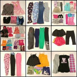 Huge Lot 4T Girls Clothing Toddler Mixed Collection Outfits