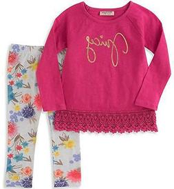 Juicy Couture Infant Girls L/S Tunic 2pc Legging Set 3/6M 6/