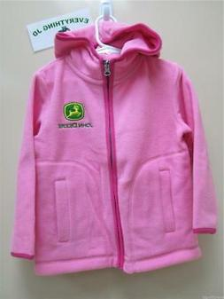 Infant/Toddler/Youth Girls John Deere Microfleece Hooded Jac