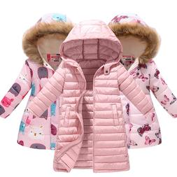 Kids <font><b>Girls</b></font> Jacket 2018 Autumn Winter Jac