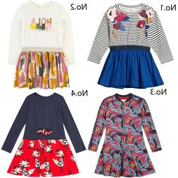 Kids Girls' Clothing Long Sleeve Flower Dress 2A-14A