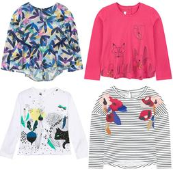 Kids Girls' Clothing Long Sleeve Tops, Shirts & T-Shirts 2A-